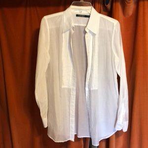 Lauren RL Sheer cotton blouse